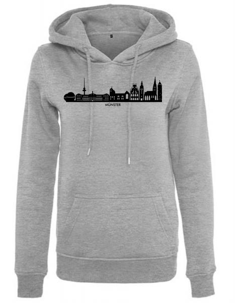 Münster Skyline Damen Hoody