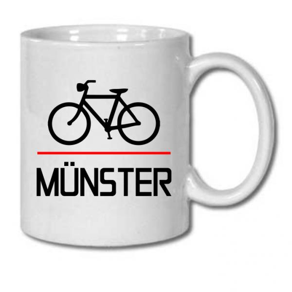 Fahrrad Münster Tasse