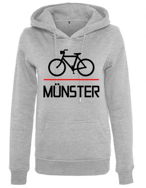 Fahrrad Münster Damen Hoody